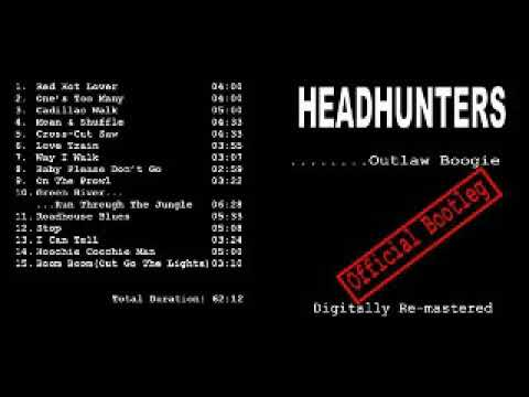 Headhunters Outlaw Boogie 1992 Boom Boom Out Go The Lights Dimitris Lesini Greece