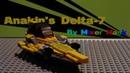 [Lego] Star Wars Anakin Skywalker Delta-7 Starfigher [MOC]