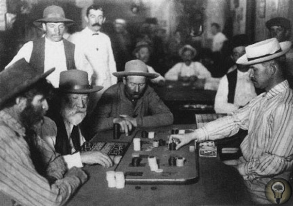 В 1858 году заядлого игрока в покер Роберта Фоллона застрелил проигравший соперник, который заявил, что Роберт выиграл 600 долларов обманом