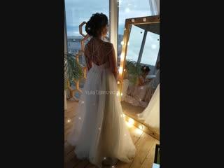Свадебный образ. MAKEUP Yulia Ustinovich, HAIR Ксения Евграфова, Dress Салон