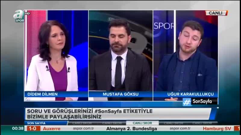 Galatasaray Benfica Uğur Karakullukçu Yorumları Son Sayfa