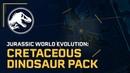 Jurassic World Evolution: Меловой Набор Динозавров Сейчас