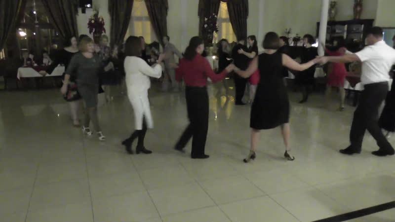 Милонга 21.10.18 Общий танец. Ресторан Империя