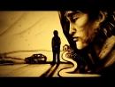 Памяти Виктора Цоя -фильм из песка Последний Герой (2018)-Ксения Симонова-Sand art tribute to Tsoy