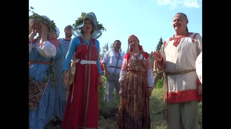 Праздник Русалия, в Колосвете. Деревня Поповка, Можайский р-он