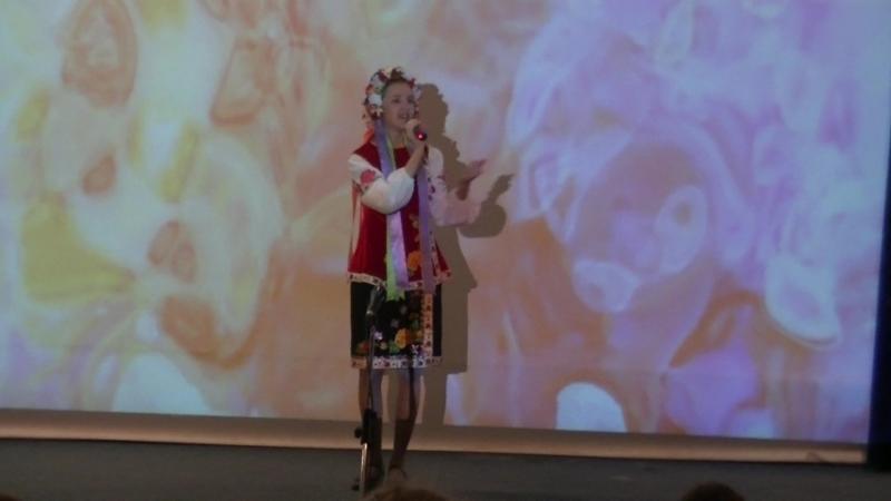 Юлия Попова на Фестивале Народов дружный хоровод ДНК Строитель 24.04.2018