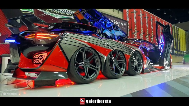 Kupu Kupu Malam 8 Tyres Toyota Yaris - Indonesia AutoModified IAM 2017