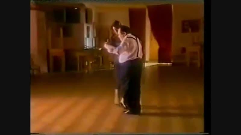 [Asi se baila milonga] - Pepito Avellaneda - Clase 5 caminadita con cambio de frente