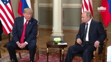 President Trump has a Bilateral Meeting with the President of the Russian Federation