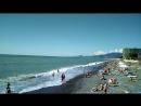 Адлер,пляж Огонёк