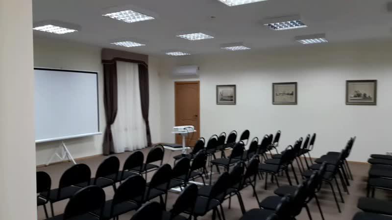 Конференц зал в Свято Троицком соборе 2018г Моя работа