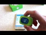 Обзор Детские умные часы с GPS трекером Smart Baby Watch Q50