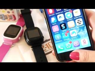 Детские часы с GPS-трекером Smart Baby Watch Q90 (Q80) инструкция видео обзор