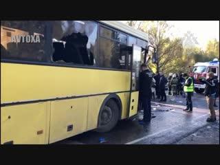 День жестянщика #48 - ДТП в Твери автобус и маршрутка-2 [AVTOXA]