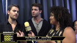Paul Wesley &amp James Wolk (Tell Me A Story) San Diego Comic-Con 2018