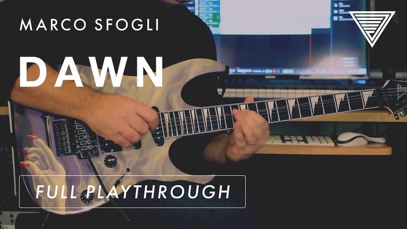 Marco Sfogli - 'Dawn' Full Playthrough (from the album Homeland)