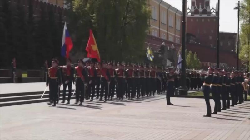 Юбилей! 60 лет. Батальон Почетного караула 154 Отдельного Комендантского Преображенского полка