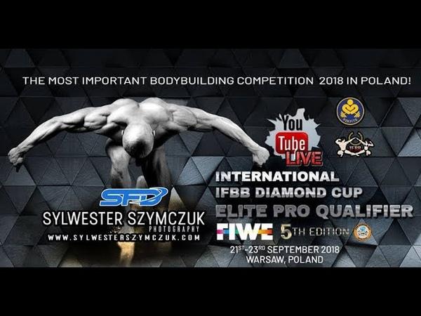 IFBB Diamond Cup Warsaw, FIWE 2018 day 2