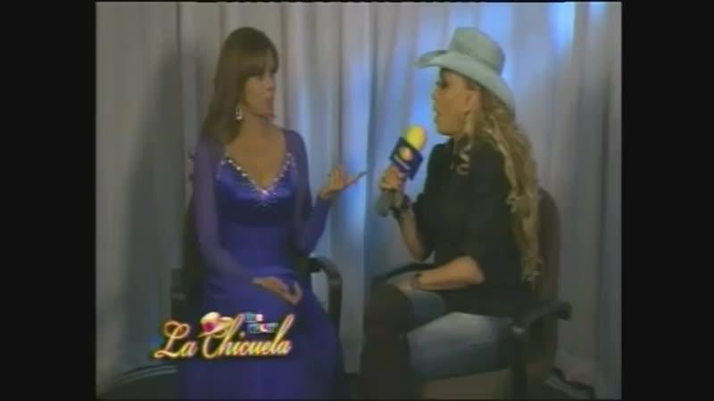 Lucía Méndez - Entrevista por Qué noche con la Chicuela part 3 (Sep. 2011)