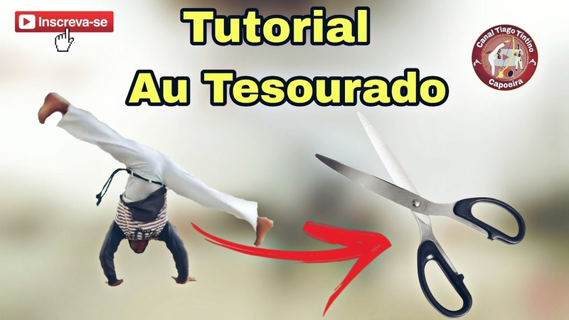 Capoeira Tutorial Au tesourado / aprenda de um jeito simples e fácil