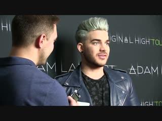 10 hours stuck in an elevator with Adam Lambert