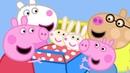 Peppa Pig English Episodes | Peppa Pig meets Rosie and Robbie Rabbit PeppaPig