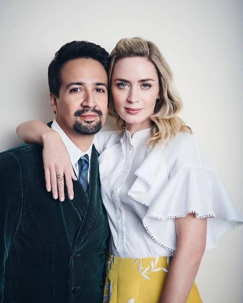 Emily Blunt & Lin-Manuel Miranda (2019) Jason Bell