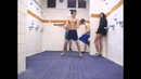 Harlem Shake locker room Barcelona