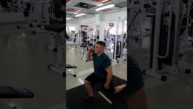 Михайло Олійник, Херсон - гирьовий фітнес
