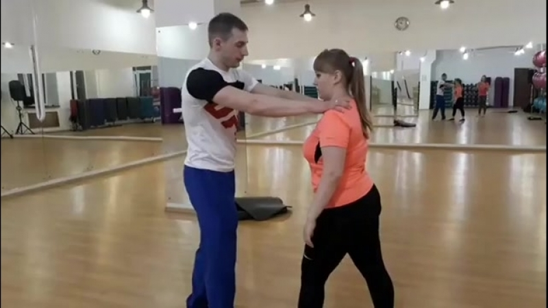Сегодня прошел первый мастер-класс по женской самообороне от тренера Ивана Гурова💪 Наша клиентка❤ Анна Фёдорова @ anfedorova10