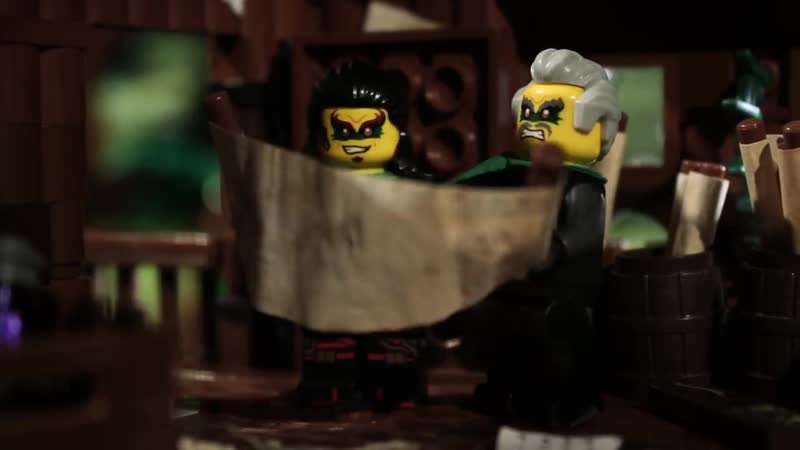 Time Twins LEGO NINJAGO Stop Motion