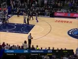 Blake Griffin got into it with a fan in Minnesota ... and the fan was ejected .mp4