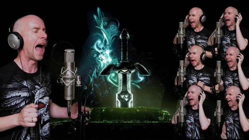 Rhapsody of fire - Emerald sword (vocal cover)