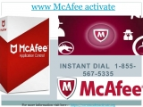 WWW McAfee activate