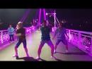 Тюмень танцы на мосту Влюбленных