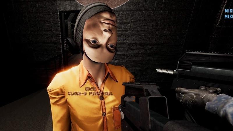 SCP Secret Laboratory: The Backwards Man