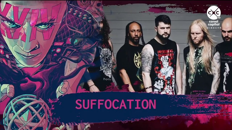 SUFFOCATION || Live at Rock Al Parque 2018 (Bogota, Colombia) Pt. 1
