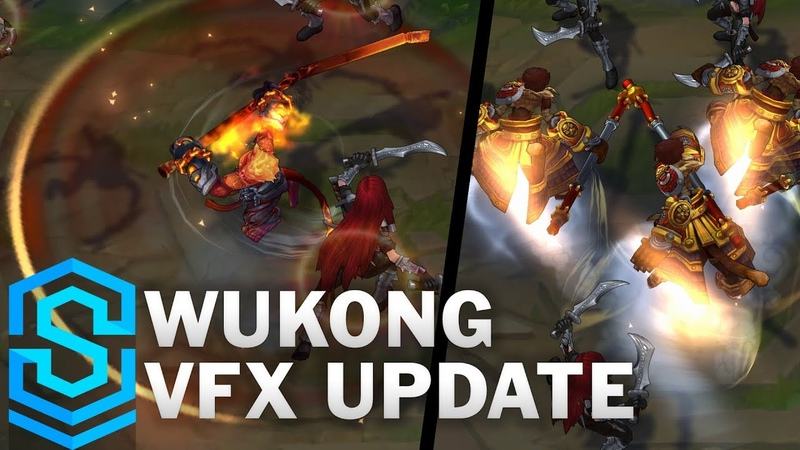 Wukong Visual Effect Update - All Affected Skins Comparison | League Of Legends