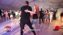 Talal Benlahsen and Alita Bru Salsa Dancing in Malibu at The Third Front 2018 Sun 05 08 2018 SC