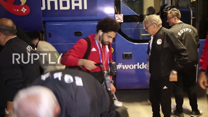 Egypt star Salah gets WHOPPING 100kg birthday cake from Chechen fans