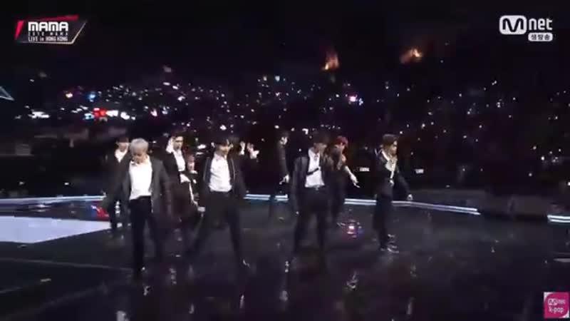 181214 Выступление Wanna One с Burn It Up Dance Break Beautiful Spring Breeze на премии 2018 MAMA в Гонконге.