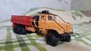 Тест-драйв Р/У модели КРАЗ 255Б / RC russian truck scale model 1:43