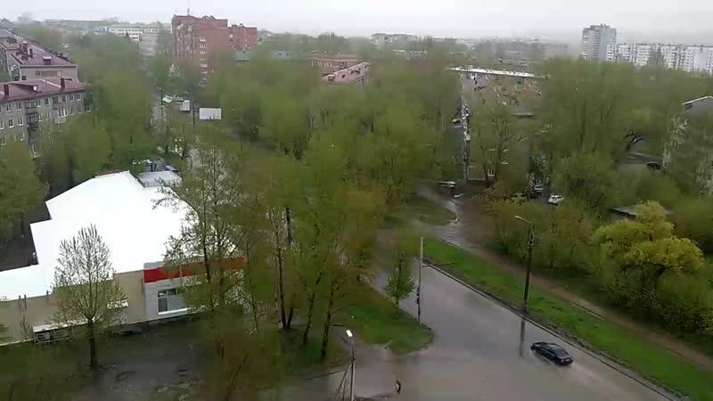 Дождливый Омск 🌦️
