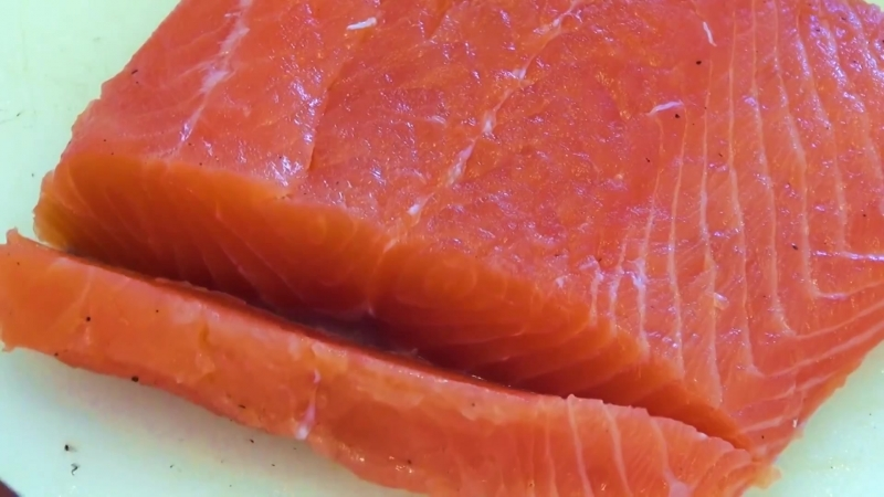 Как засолить красную рыбу - малосольная сёмга, форель, горбуша, кета