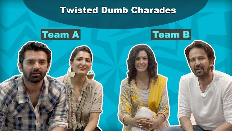 Twisted Dumb Charades With Barun Sobti   Kay Kay Menon   Eisha Chopra   Shriswara   EXCLUSIVE