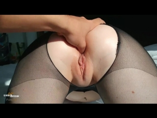 CutieGingerAna — POV Stockings Teen Roughly Fucked in Doggy till Creampie [Amateur, Teen, Red Head, Rough Sex, Russian]
