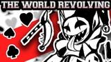 Deltarune ~ THE WORLD REVOLVING (Jevil Theme) ~ Tudd Happy Hardcore Rave Remix