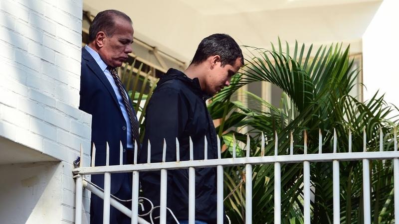 Венесуэльские силы безопасности арестовали помощника Хуана Гуайдо