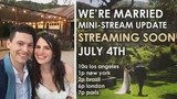 We're Married { Mini-Stream Update // 4th of July