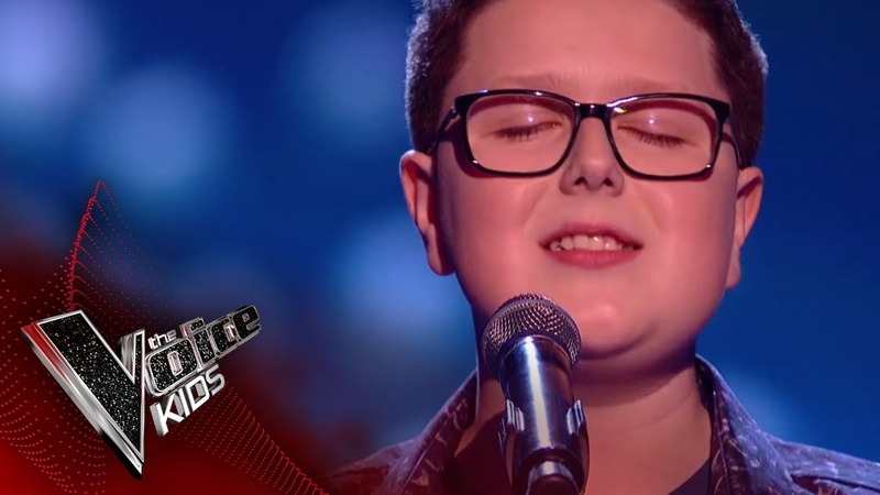 Daniel Performs 'The Voice Within' The Semi Final The Voice Kids UK 2018